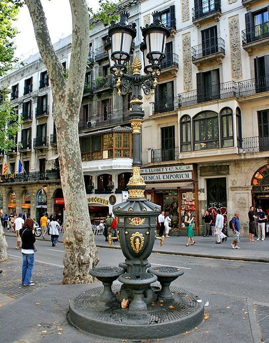 Legend has it that if you drink from the Font de Canaletes Drinking Fountain you'll always come back to Barcelona.