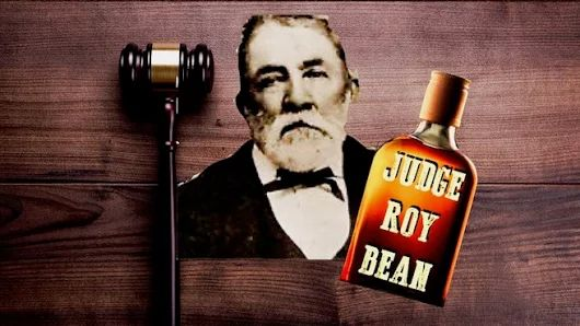 """Judge Roy Bean's saloon doubled as his courthouse where he used his business savvy to put money in his pocket. Bean ranked as a master of self-promotion and practiced an unorthodox brand of frontier justice.""""GIGGLE JUICE AND A GAVEL""""  http://tomrizzo.com/giggle-juice-gavel/"""