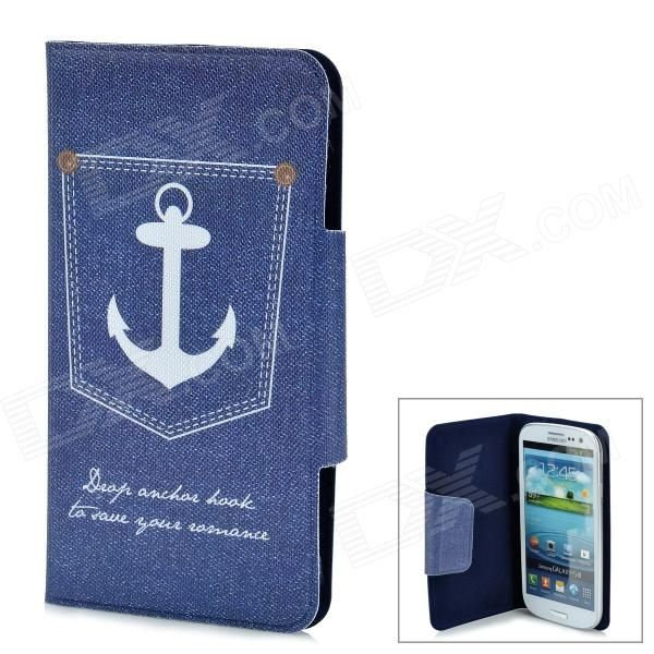 Quantity: 1 Piece; Color: Blue; Material: PU leather; Compatible Models: Samsung Galaxy S3 i9300; Other Features: Protects your device from scratches, shock and dust; Packing List: 1 x Case; http://j.mp/1toGbjU