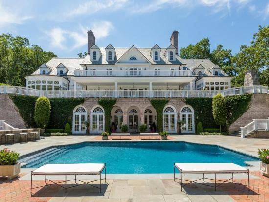 Gorgeous Long Island Estate With A Spectacular Swimming Pool On Lloyd  Harbor.