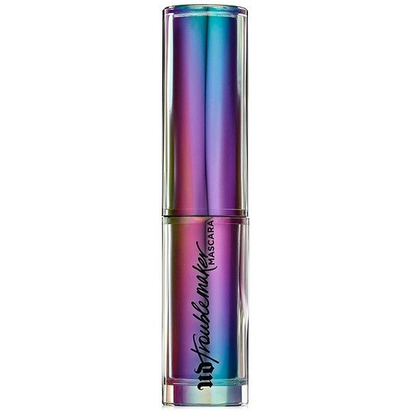 Urban Decay Troublemaker Mascara ($11) ❤ liked on Polyvore featuring beauty products, makeup, eye makeup, mascara, lengthening mascara, urban decay eye makeup, urban decay and urban decay mascara