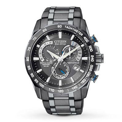 Citizen Mens Watch Chronograph A-T AT4007-54E
