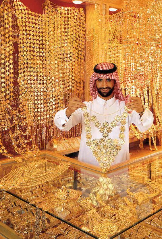Dubai Gold Souk. If you the opportunity to visit Dubai and stop at the Gold Souk market, it may be purchasing jewelry here, he said the quality of gold in Dubai is the best quality.: