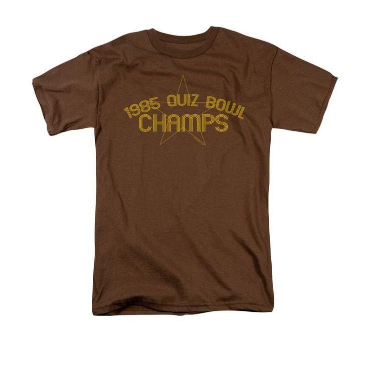 1985 Quiz Bowl Champs Adult Regular Fit T-Shirt