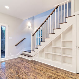 Under The Stairs Built Ins Design