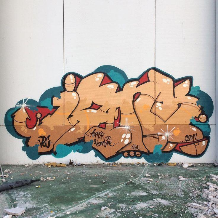 Amor de hombre.#junk #graffiti #letters #hiphop #oldschool #mocedades #instagraffiti #lettering #mtn #hardcore2 @sauldepal @rapperderave #vsc #sunday #urban #noturbanart