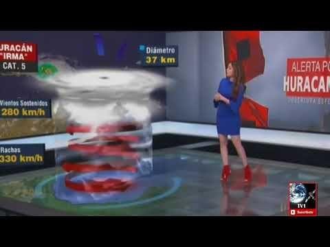 3 HURACANES AZOTAN MÉXICO Y EL CARIBE VIDEO IRMA, JOSÉ Y KATIA - YouTube