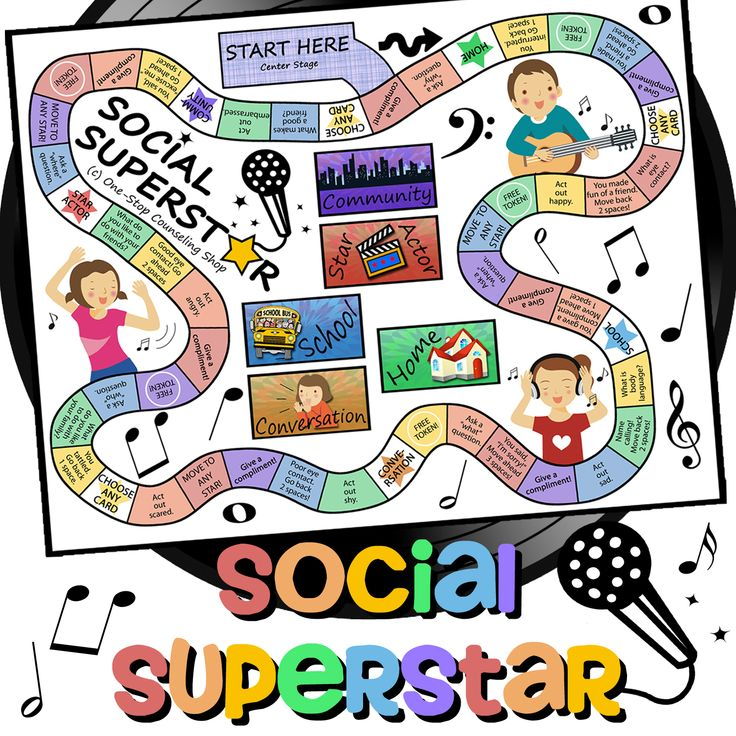 Social Skills Game available at Teachers pay Teachers from One-Stop Counseling Shop Blog.