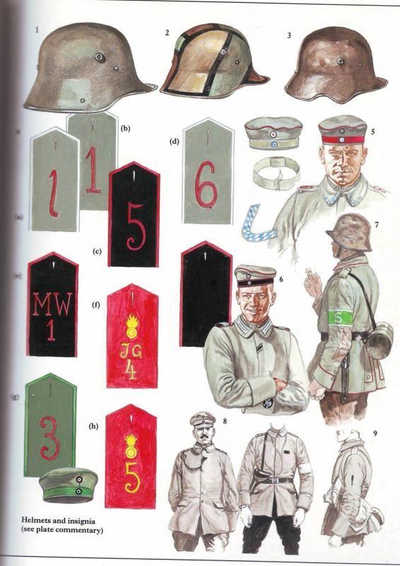 La gran guerra. Foro sobre todo lo relacionado con la primera guerra mundial. :: Ayuda para recrea uniforme de sturmtruppen