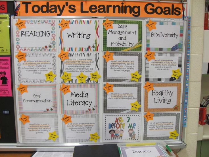 Learning Goals and Success Criteria....use page protectors to easily print learning goals