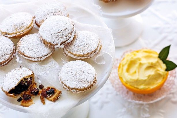 Fruit mince pies with grand marnier butter main image