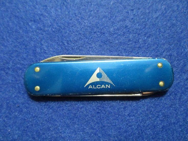 VINTAGE ALCAN ALUMINUM - VICTORINOX POCKET KNIFE - VICTORIA - Swiss Army #Victorinox