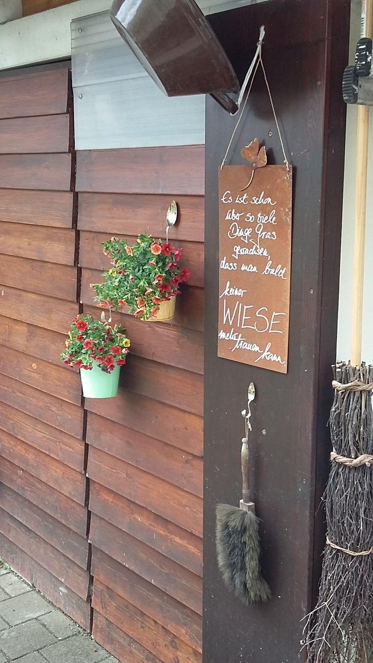 Holz Und Stein Von Bettinaglauner Mehr Sehen Gartengestaltung