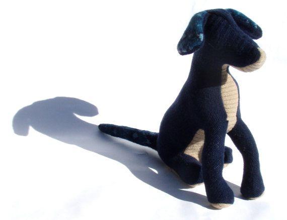 A Big Blue Dog by zfla on Etsy