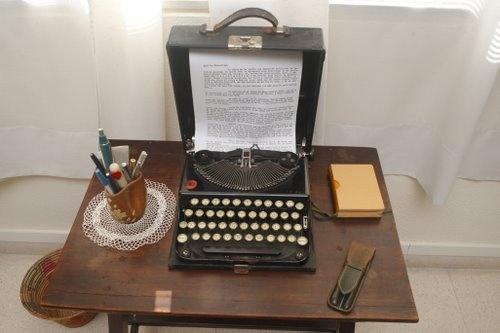Máquina de escribir Remington usada por Carmen Conde.