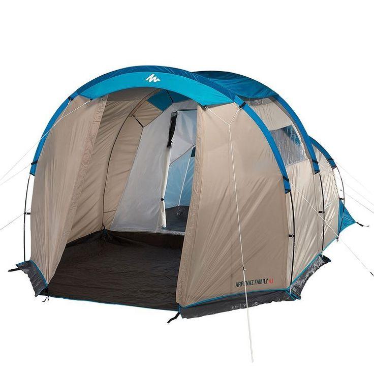 MONTANHA - Tendas Campismo, Mochilas - Tenda Arpenaz Family 4.1 QUECHUA - Tendas de Campismo