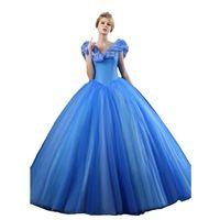Элегантный Принцесса Мяч Золушка Свадебные Платья Оборками Кристаллы Плиссе Свадебные Платья Свадебные Платья Длина Пола