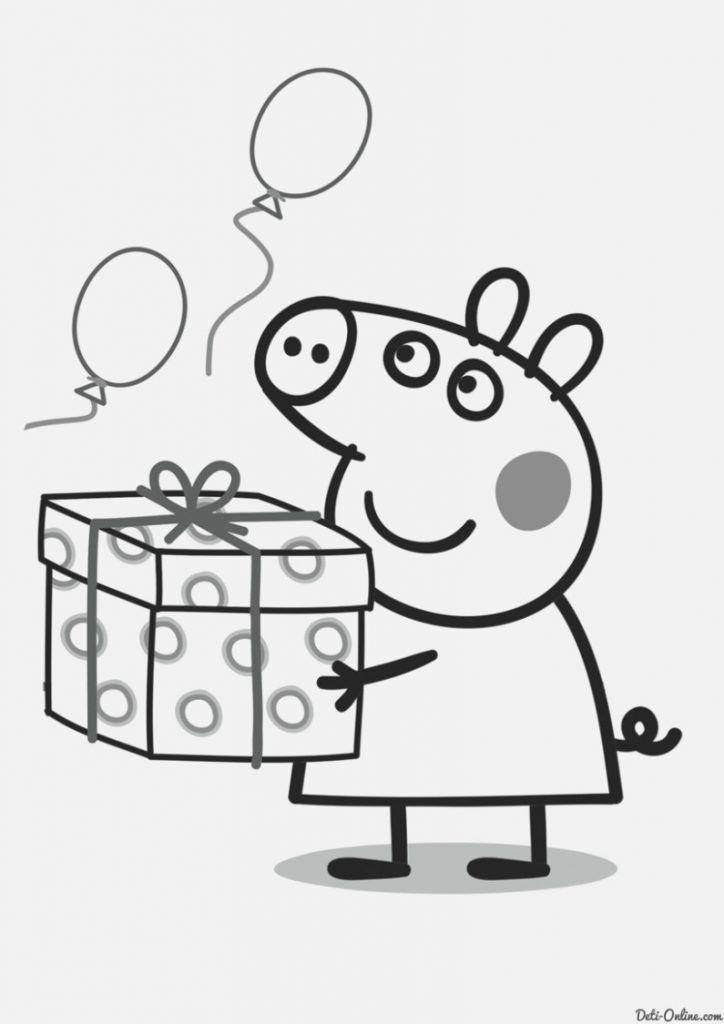 Pin De Mm En Christmas Peppa Pig Para Colorear Dibujos Para
