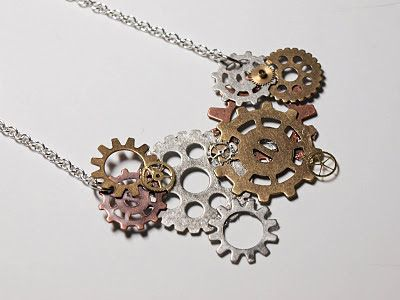 1000 images about diy necklace projects and tutorials on for Easy steampunk ideas