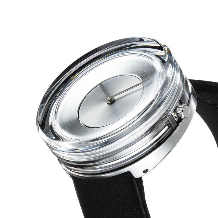 Tokujin Yoshioka Designed a Glass Watch for ISSEY MIYAKE Watch Project - Design Milk