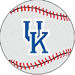 Fanmats Kentucky Wildcats Baseball-Shaped Mat