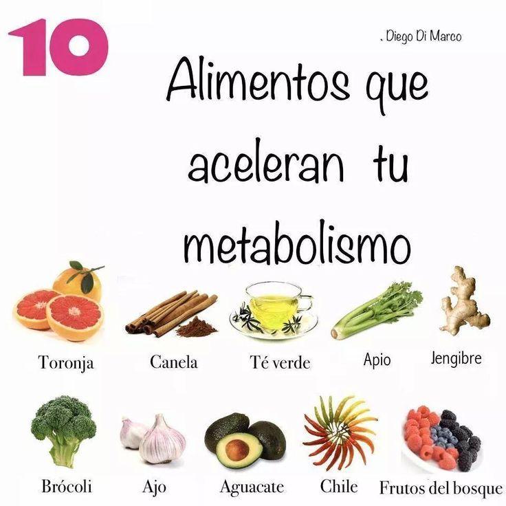 Para acelerar el metabolismo