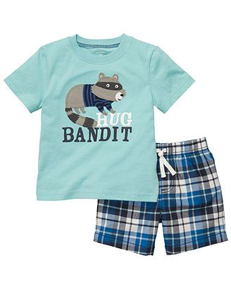 Carter's Baby Set, Baby Boys 2-Piece Tee and Shorts