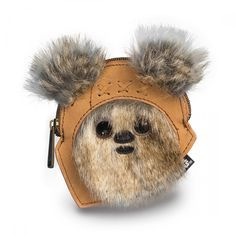 OMG is this not the cutest thing EVER!!!!! Star Wars Ewok Coin Bag - Star Wars - Brands