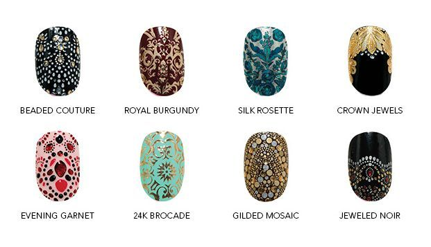 Fancify your nails. We're obsessed with these Revlon by Marchesa 3D Jewel Nail Appliques.