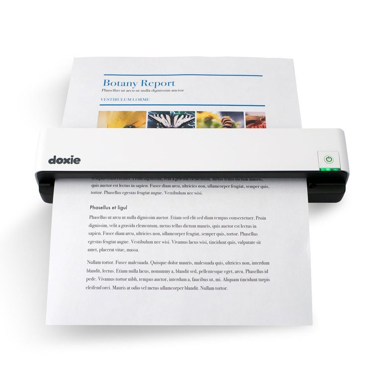 Portable, rechargeable document and photo scanner. Syncs to PC or Mac. I could use this for organizing all my graded work instead of keeping it in a box.