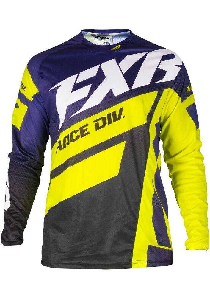 Download Fxr Racing S19 Clutch Podium Mens Mx Jersey Purple Yellow Xl New No Tags Fxr Motocross