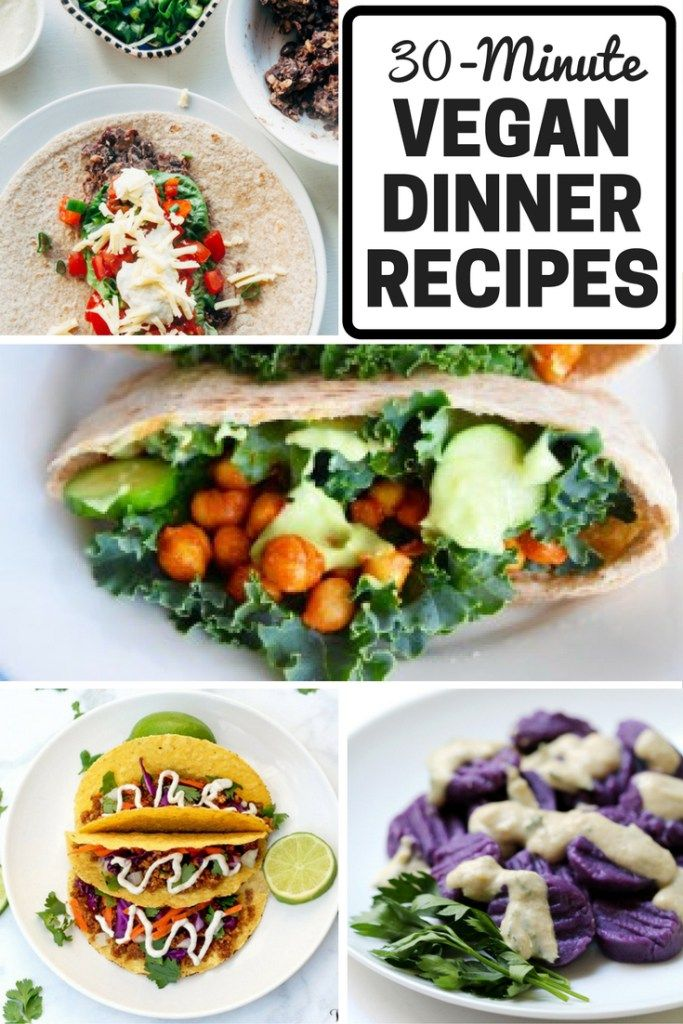17 best images about quick vegan meals on pinterest for Quick and delicious dinner recipes
