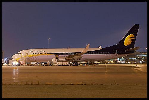 VT-JFN Jet Airways Boeing 737-800