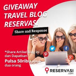 Saatnya Blog Giveaway Travel Blog Reservasi!