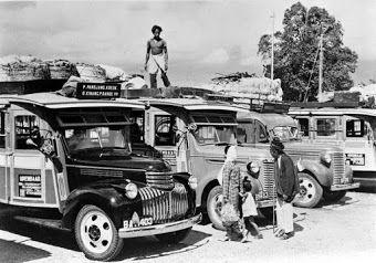 Chevrolet bus, Lampung, Indonesia