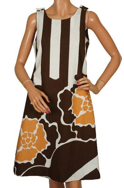 1960s Marimekko Finland Dress by Maija Isola