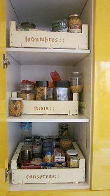Ideas facilísimas para ordenar la cocina