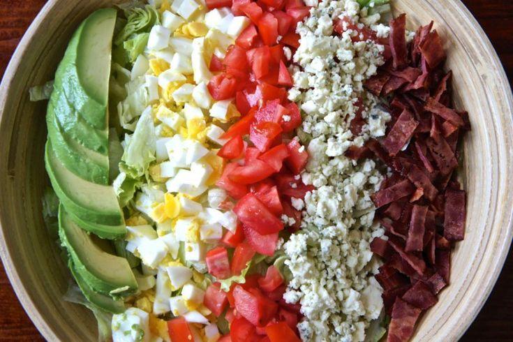 Лёгкий «кобб салат»