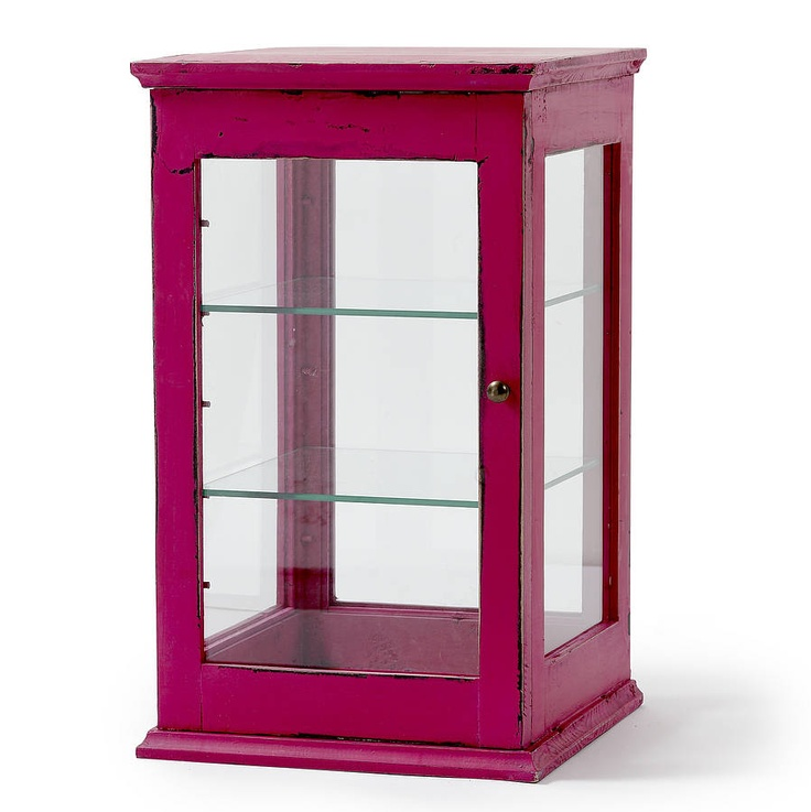 Glass Display Cabinets Assorted By Nordal
