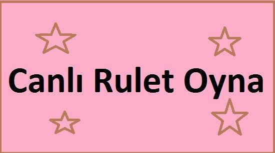 Canlı rulet her zaman casino oyunları içerisinde en kolay kazanca ulaşılabilecek oyun türüdür. İster renk ister 3'lü, ister bölmeli ve isterseniz tüm sayılara bahis yapabilirsiniz.