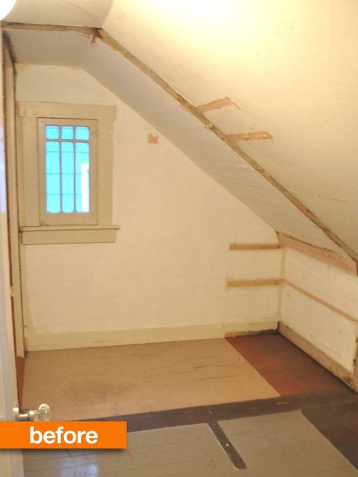 about Sloped Ceiling Bedroom on Pinterest   Sloped ceiling Slanted