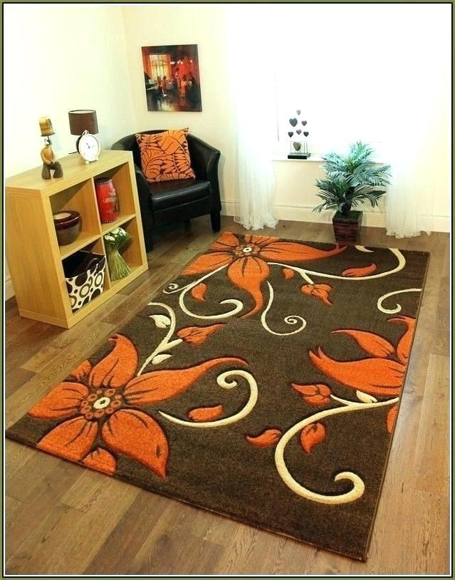 Burnt Orange Rugs With Images