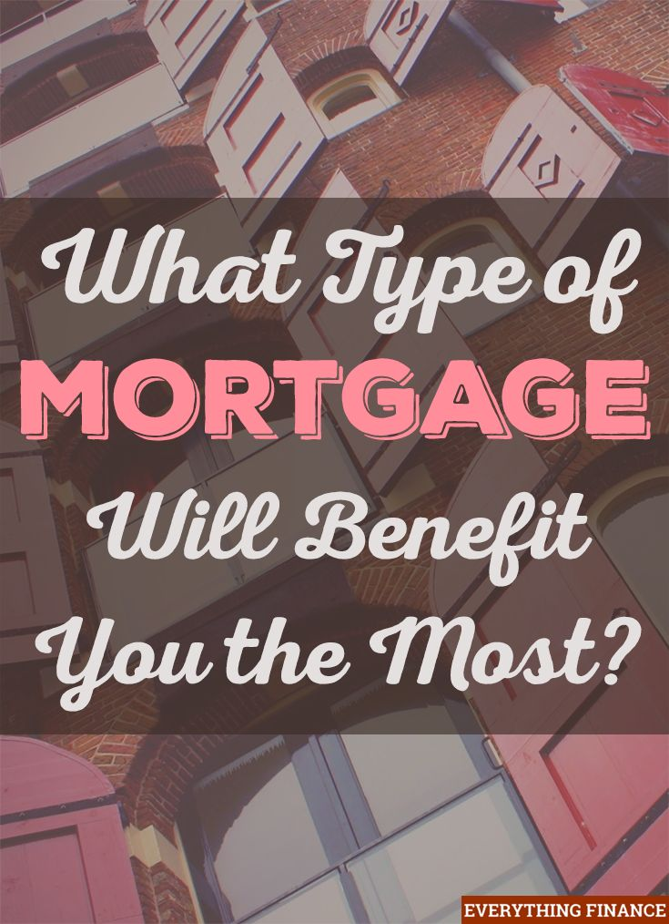 What type of mortgage loan is the best for you? This post covers the 4 most common programs.