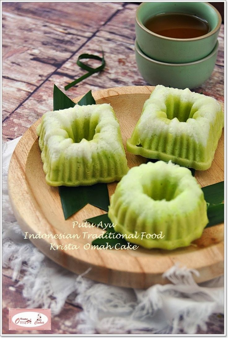 KRISTA MOCAF KITCHEN: Putu Ayu - Indonesian Traditional Food