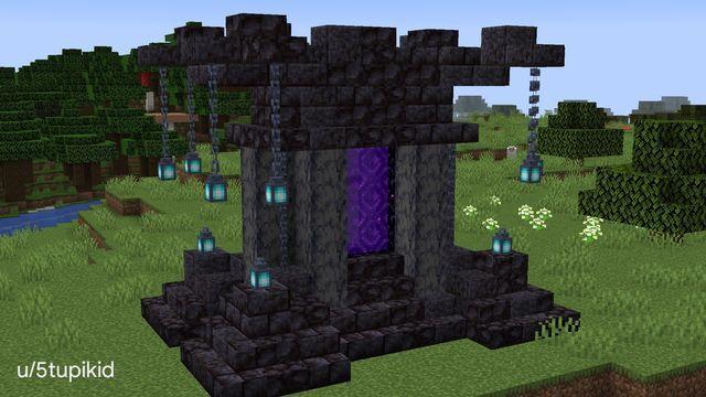 Minecraft Through The Nether Portal