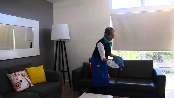 Bindy shows us how to clean a leather lounge using the Ha-Ra cleaning system.