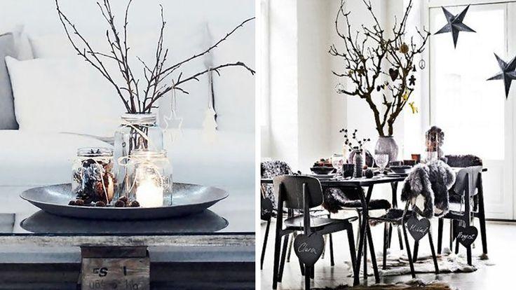 Des branchages pour décorer son salon