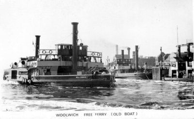 Old Woolwich Ferry, southern approach