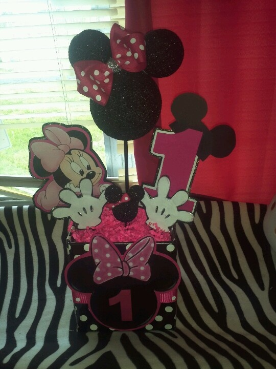 Minnie Mouse Centerpiece Party Ideas For Girls