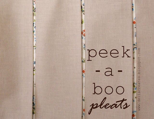 pleat week guest! - delia from delia creates - see kate sew